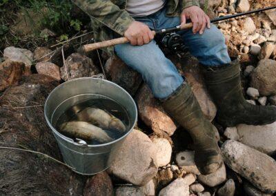 Pesca de río