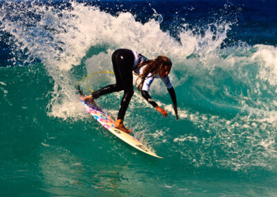 Surf con estancia en Carballo